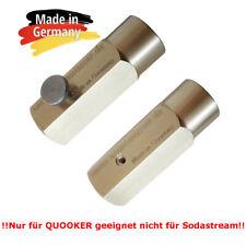 Umfüll Adapter aus großer CO2 Flasche in geeignet für Quooker 425g Zylinder