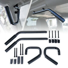 Rear & Front Grab Bar Steel Grab Handles for 07-18 Jeep Wrangler JK 4 Door