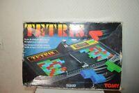 JEU DE PLATEAU TETRIS BY TOMY ET NINTENDO VINTAGE 1991 GAME BOARD