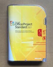 MS Project 2007 Standard Vollversion deutsch inkl.2ter Installation, Neuware