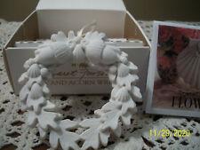 New listing Mib Margaret Furlong Oak and Acorn Wreath Bique Ornament