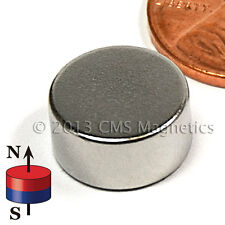 "Neodymium Disk Magnets N42 1/2x1/4"" NdFeB Rare Earth Magnets Lot 20"
