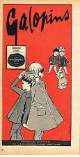 PUBLICITE  1966   GALOPINS   BLOUSE CLUB MODE ENFANTILE
