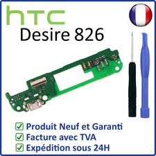 NAPPE CIRCUIT CONNECTEUR DE CHARGE DOCK USB ET MICRO DU HTC DESIRE 826 + OUTILS