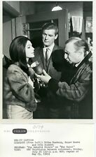 ROGER MOORE ERIKA REMBERG OTTO DIAMENT THE SAINT ORIGINAL 1969 NBC TV PHOTO