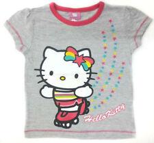 Camiseta de niña de 2 a 16 años de color principal gris