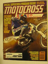 February 1993 MOTOCROSS ACTION Magazine moto x dirt bike racer