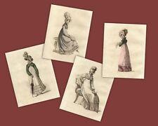 Regency Print Collection Jane Austen Style Fashion Ackermann Repository
