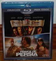PIRATAS DEL CARIBE-PRINCE OF PERSIA 2 BLURAY NUEVO PRECINTADO AVENTURAS R2