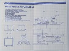 VINTAGE 1980S G.I. JOE ARAH BLUEPRINTS CHAMELEON SWAMP SKIER ZARTAN NO RESERVE!