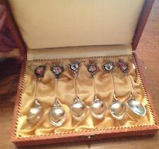 Set Of 6 German Silver Demitasse Spoons