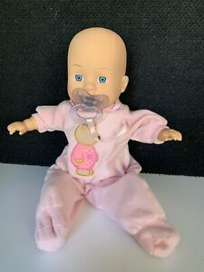 "Circo 1999 Cititoy 14"" Baby Doll Blue Eyes BS219 TC9 Talks H.K. City Toys"