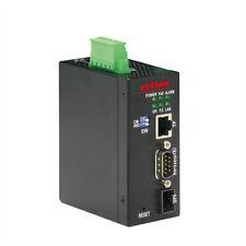Industrie Konverter Ethernet - Seriell RS232 / Unterstützt PoE über RJ-45