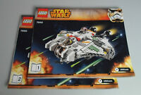 LEGO® Bauanleitung Star Wars - 75053 The Ghost ungelocht / instructions new