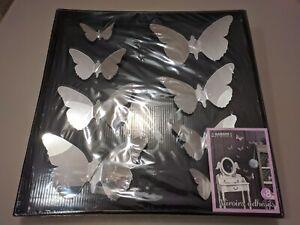 Farfalle decorative, specchi adesivi