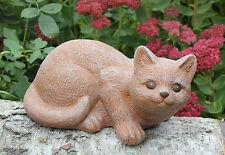 sculpture en pierre chats chat statue d'ornement de jardin