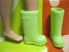 Barbie Sister modern SKIPPER DOLL Fashion Outfit SHOES clothes~GREEN RAIN BOOTS