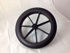 """RUOTA posteriore 315 mm Nero & pneumatico per lo stile NHS sedia a rotelle 12 1/2"""""""