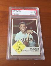1963 Fleer Willie Mays #5 Psa 8 NM-MT