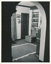 HEDY LAMARR Hollywood Home Interior CANDID Vintage CLARENCE BULL MGM DBW Photo