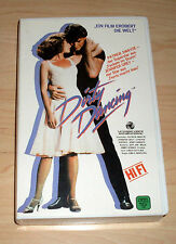 VHS-Dirty Dancing-Patrick Swayze Jennifer Oliver-Dance Film Video Cassette