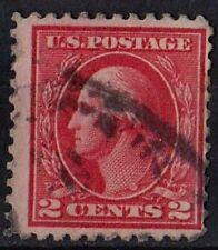 US 1914 Scott #425 George Washington First President 2 Cents Red STAMP