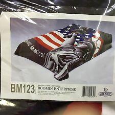 Original Solaron Hi-Plush Super-Soft King Size Statue Of Liberty Blanket