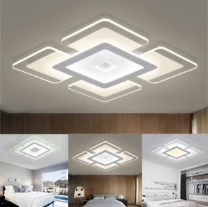 Acrylique Plafonnier LED Lumière Moderne Élégant Lampe Salon Chambre Décoration