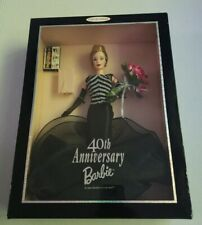 Barbie Doll 40th Anniversary Collector's Edition Black Dress 1999 New Sealed Box