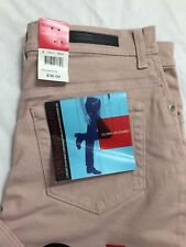 Gloria Vanderbilt Size 8 Medium Stretch Jeans Whisper Pink Straight Leg NWT