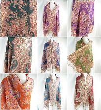 *US SELLER* 10pcs paisley floral pashmina scarf Winter wholesale Discount Scarf