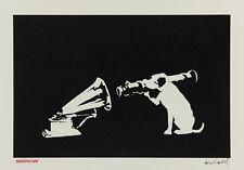 Banksy - HMV Dog - 50 x 65 cm. Arches Paper - Printed Signature