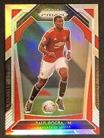 2020-21 Panini Prizm Premier League Soccer # 9 Paul Pogba Silver Refractor SHARP