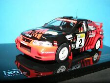 MITSUBISHI LANCER EVO IV # 2 Ralliart una scala 1:43RD IXO MODEL AUTO DA RALLY