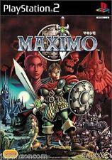 Used PS2 Capcom Maximo  SONY PLAYSTATION JAPAN IMPOR