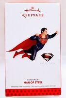 Hallmark Keepsake Ornament SUPERMAN Man of Steel 2013