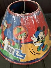 MICKEY MOUSE & FRIENDS - bedroom lampshade for ceiling pendant fitting