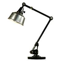 Midgard Tisch Lampe Arbeits Maschinen Gelenkarm Leuchte Vintage 50er 60er Jahre