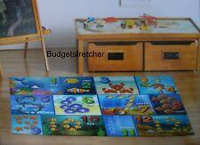 Anti Slip Children's Educational Numbers Nursery Kids Bedroom Play Rug 100x138cm