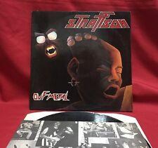 Strattson – Ouf Metal - Vinyl, LP, 1985 - French Press - Excellent