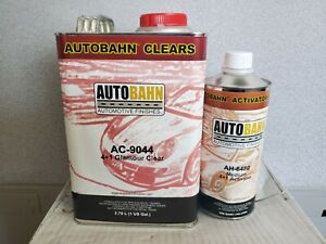 AUTOBAHN GLAMOUR CLEAR COAT  AC9044 4:1 MIX WET PLUS WITH MEDIUM ACTIVATOR