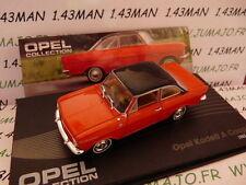 OPE53 voiture 1/43 IXO eagle moss OPEL collection : Kadett A coupé 1962/1965