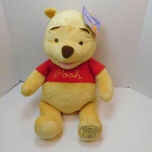 "Disney TOYS R US Winnie the Pooh Plush Celebrating 80 Years of Friendship 24"""