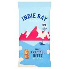 Indie Bay snack farro Pretzel morsi SALE GROSSO 26 g (Pacco da 5)