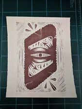 GATS Infinite Eye Art Print Street Graffiti Letterpress Poster