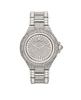 New Michael Kors Women's Camille MK5869 Silver Stainless-Steel Quartz Watch