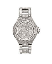 f8219a96fab New Michael Kors Women s Camille MK5869 Silver Stainless-Steel Quartz Watch
