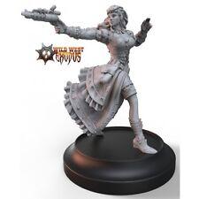 Wild West Exodus: Mercenary - SIERRA ICARUS miniature set NIB  !!