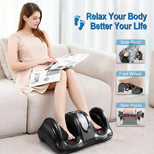 Shiatsu Home Foot Massager Machine With Switchable Kneading Rolling Sole Massage