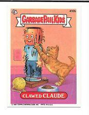 GARBAGE PAIL KIDS SINGLE SERIES 10 CLAWED CLAUDE 410B